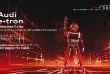 Gagnez 4×2 places pour la soirée Audi e-tron à l'Electric le 23.09