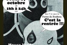 L'ÉLECTRO D'BAL « C'est la rentrée !!! » Jeudi 17 octobre à La Ferme du Bonheur (Nanterre)