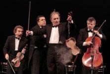 [Live report] Le Quatuor, danseurs de cordes détonants et désopilants
