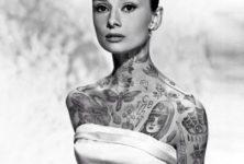 Des célébrités tatouées pour de faux par Cheyenne Randall