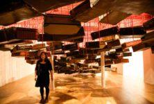 Chiharu Shiota tisse le fil de nos mémoires intimes galerie Templon INTERVIEW