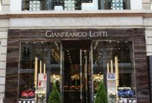 Gianfronco Lotti a ouvert sa première boutique à Paris