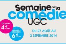 Semaine de la comédie UGC : le programme du bon plan ciné du moment !