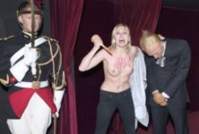 Musée Grévin : lourde amende pour la Femen qui avait attaqué Poutine