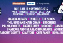 Les concerts du mois de novembre à ne manquer sous aucun prétexte