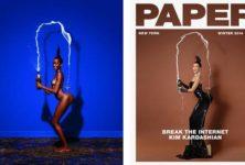 Les fesses de Kim Kardashian over Goude
