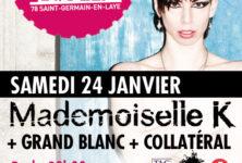 Gagnez 3×2 places pour le concert de Grand Blanc & Mademoiselle K à La Clef St-Germain