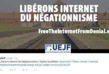 Interdiction du négationnisme sur Internet