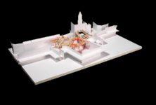 Mons, ville Européenne de la Culture 2015, retrouve sa structure de Arne Quinze en juin