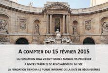 Fermeture à durée indéterminée du Musée Maillol