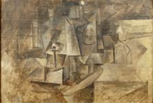 «La coiffeuse», tableau cubiste de Picasso retrouvé et restitué au Centre Pompidou