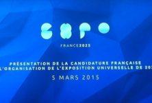 EXPOFRANCE 2025: candidature de la France pour l'exposition universelle