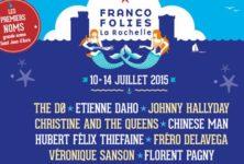 Gagnez vos places pour les Francofolies de La Rochelle du 10 au 14 Juillet 2015