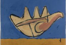 Le Corbusier panorama d'une œuvre à la galerie Eric Mouchet et à la galerie Zlotowski à Paris