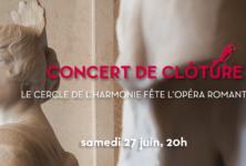 Concert de clôture de l'Opéra Comique : «ce n'est qu'un au revoir…»