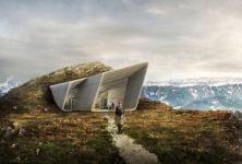 L'architecte Zaha Hadid ouvre un musée dans le massif des Dolomites