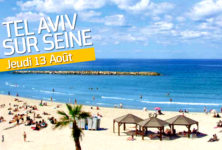 Tel-Aviv sur Seine déchaîne