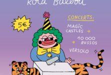 Gagnez 2×1 places pour le vernissage de Roca Balboa et les concerts de 1000 Russos, Magic Castles et Versolo à l'Espace B