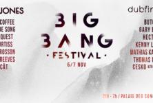 Gagnez 4×2 places pour le Big Bang Festival les 6 & 7 novembre 2015 au Palais des Congrès !