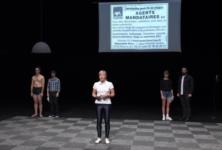 Le monde du travail taclé dans un éclat de rire par Thomasset et Previeux au Festival d'Automne