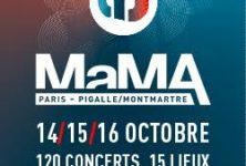 Gagnez vos pass pour le MaMA festival du 14 au 16 octobre