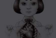 «Quatre coeurs imparfaits» : une histoire de femme par Véronique Ovaldé illustrée par Véronique Dorey
