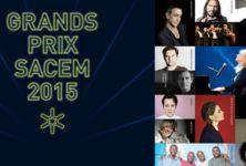 Grands Prix SACEM : la musique, tout pour la musique