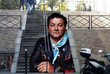 30 ans de Restos du cœur : une fresque de street-art à l'effigie de Coluche dans le 13ème