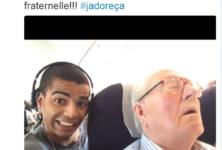 Selfie : Jean-Marie Le Pen réclame 50 000 euros à Brahim Zaibat