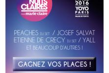 Gagnez 2×2 places pour les Nuits Claires du 1er avril 2016