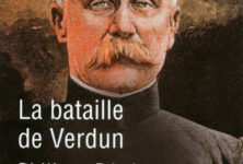 Verdun, récit d'une bataille – mémoire par Philippe Pétain