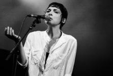 [Live report] Melanie De Biasio au théâtre des Bouffes du Nord