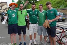 Une médaille pour les supporters irlandais