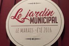 [Bar éphémère] Le Jardin Municipal, le bon plan vert du Marais