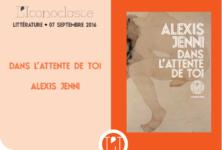 «Dans l'attente de toi», Alexis Jenni romantique et pictural chez L'Iconoclaste