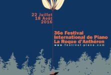 36e édition du Festival International de piano de La Roque d'Anthéron