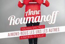 Anne Roumanoff fait rougeoyer l'Alhambra jusqu'au 15 janvier 2017 !