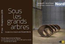 Gagnez 5×1 catalogue d'exposition des sculptures de Vincent Barré « Sous les grands arbres » visible jusqu'au 18 septembre au Musée Départemental Matisse