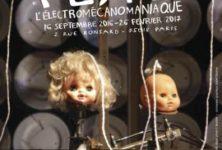 L'éléctromécanomaniaque Gilbert Peyre, surprend à la Halle St Pierre