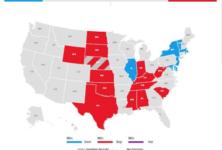 Les élections présidentielles: séisme à Hollywood