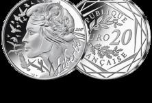 Une pièce de 20€ à l'effigie de Marianne