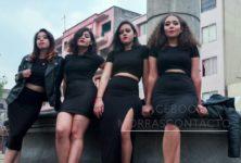 Le collectif féministe Las Morras dénonce le harcèlement de rue à Mexico