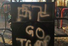 Des croix gammées révoltent les habitants de Brooklyn