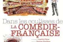 «Dans les coulisses de la Comédie-Française» de Laetitia Cénac, Damien Roudeau