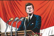 «Kennedy», l'histoire d'un des plus jeunes présidents des USA en BD !