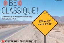 Gagnez 5×2 places pour la soirée d'ouverture de Be Classique ! à Paris, le 25 avril