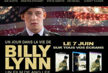 Gagnez 3 Blu-Ray du film Un jour dans la vie de Billy Lynn d'Ang-Lee