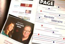 Gagnez 3×1 exemplaire du numéro spécial Rentrée Littéraire de la revue PAGE des libraires