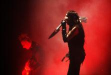 Marilyn Manson se blesse en plein concert !