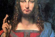 «Salvator Mundi», le tableau de Leonard de Vinci vendu aux enchères.